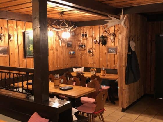 Gastraum Ausflugsziel Rinderstall