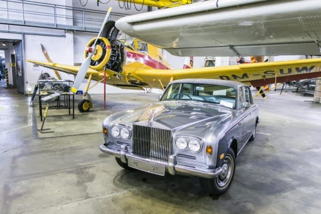 Blick in Ausstellungshalle Luftfahrtmuseum Wernigerode