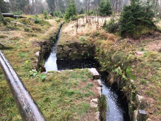 Teil des Harzer Wasserregals