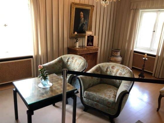 Empfangsraum Wohnhaus Konrad Adenauer