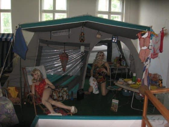 Reisen und campen in der DDR