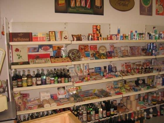 Einkaufsladen im DDR Museum