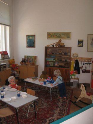 Kinderzimmer aus DDR-Zeiten