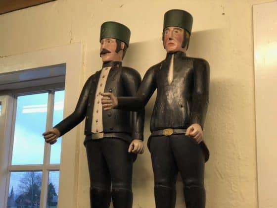 Bergmänner aus Holz