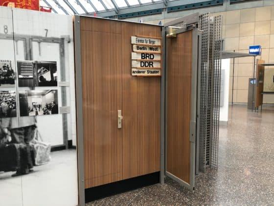 Haus der Geschichte: DDR-Grenzkontrolle