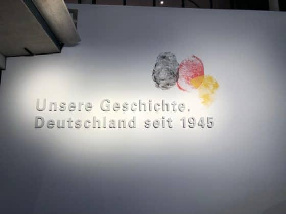 Bilspräsentation Haus der Geschichte