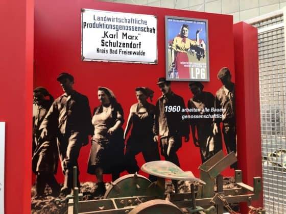 Haus der Geschichte: Aufbau Landwirtschaftliche Produktionsgenossenschaft