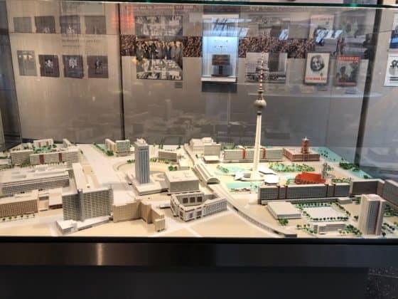 Modell Ost-Berlin zu Zeiten der DDR