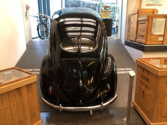VW in der Ausstellung Haus der Geschichte