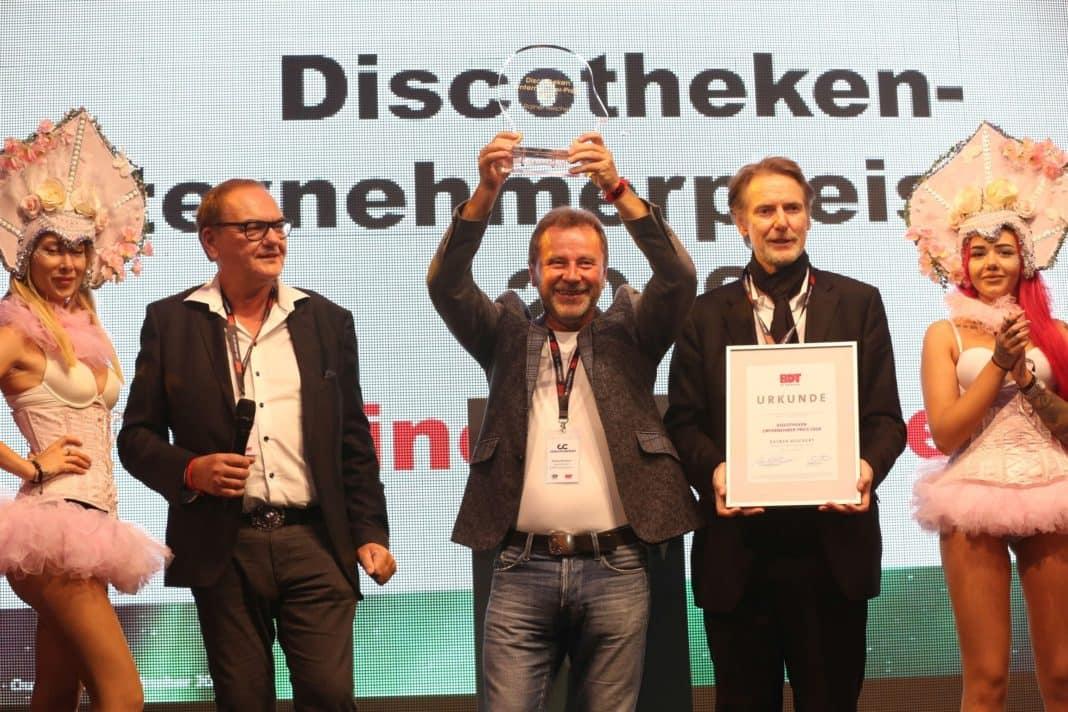 Rainer Reichert erhält Discotheken-Unternehmerpreis 2019