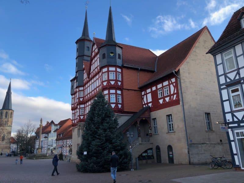 Das Duderstädter Rathaus 2019