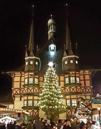 Budenzauber auf dem Weihnachtsmarkt Wernigerode