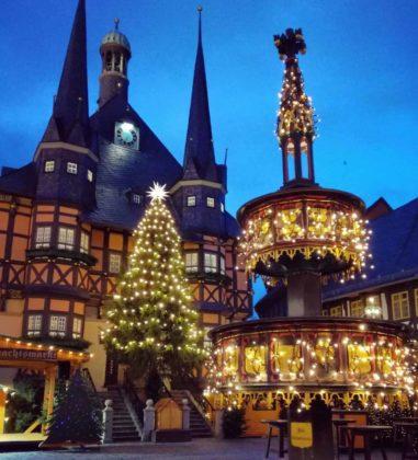 Historischer Weihnachtsmarkt Wernigerode