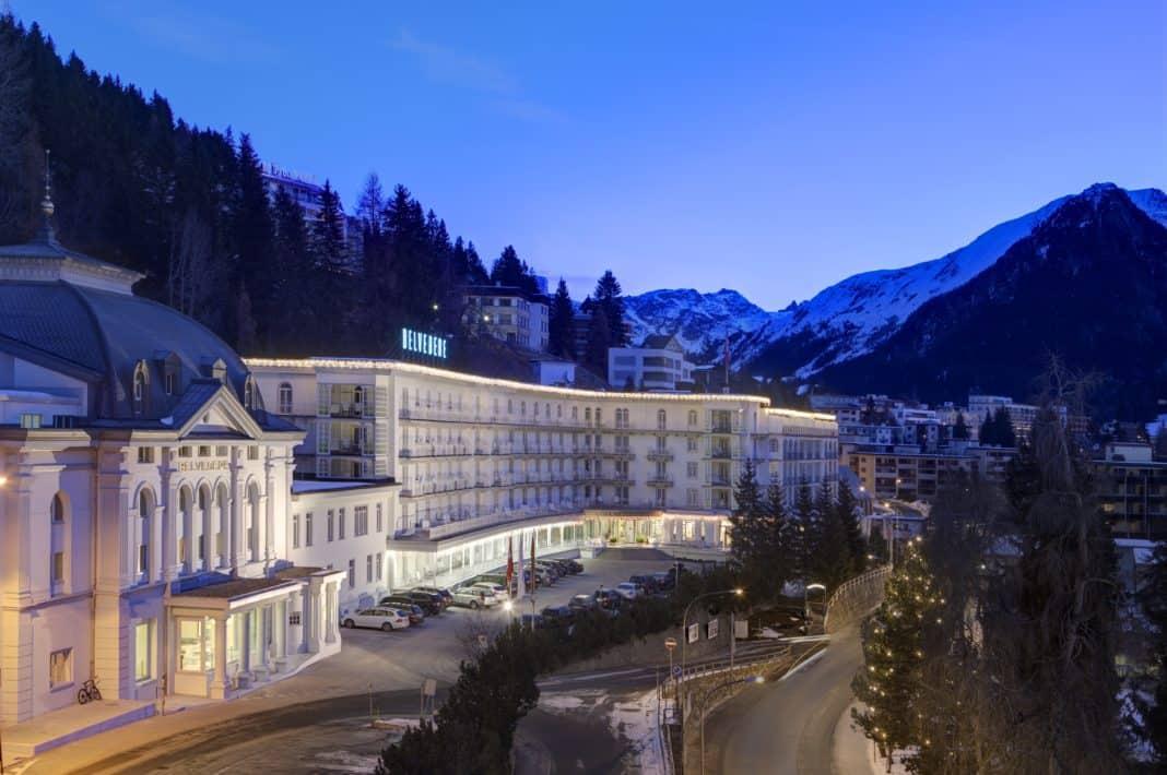 Steigenberger Grandhotel Belvédère: Gastegeber Weltwirtschaftsforum