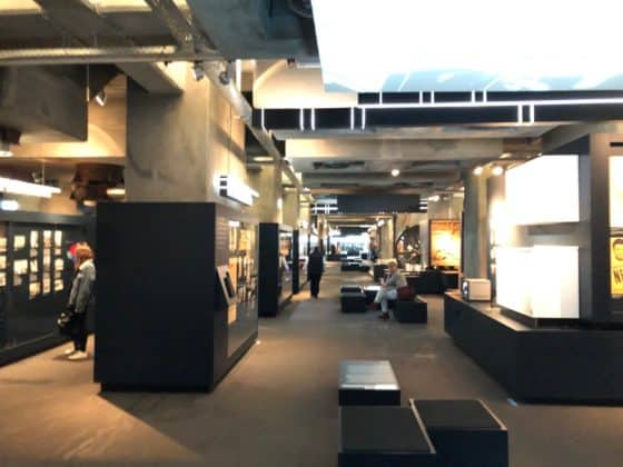 Blick in die Geschichts-Ausstellung