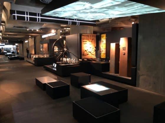 Teilbereich Ausstellungsbereich Industrialisierung