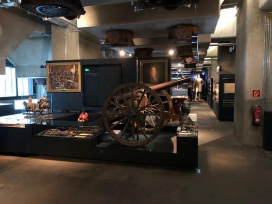 Krupp Geschütz Erster Weltkrieg im Ruhr Museum