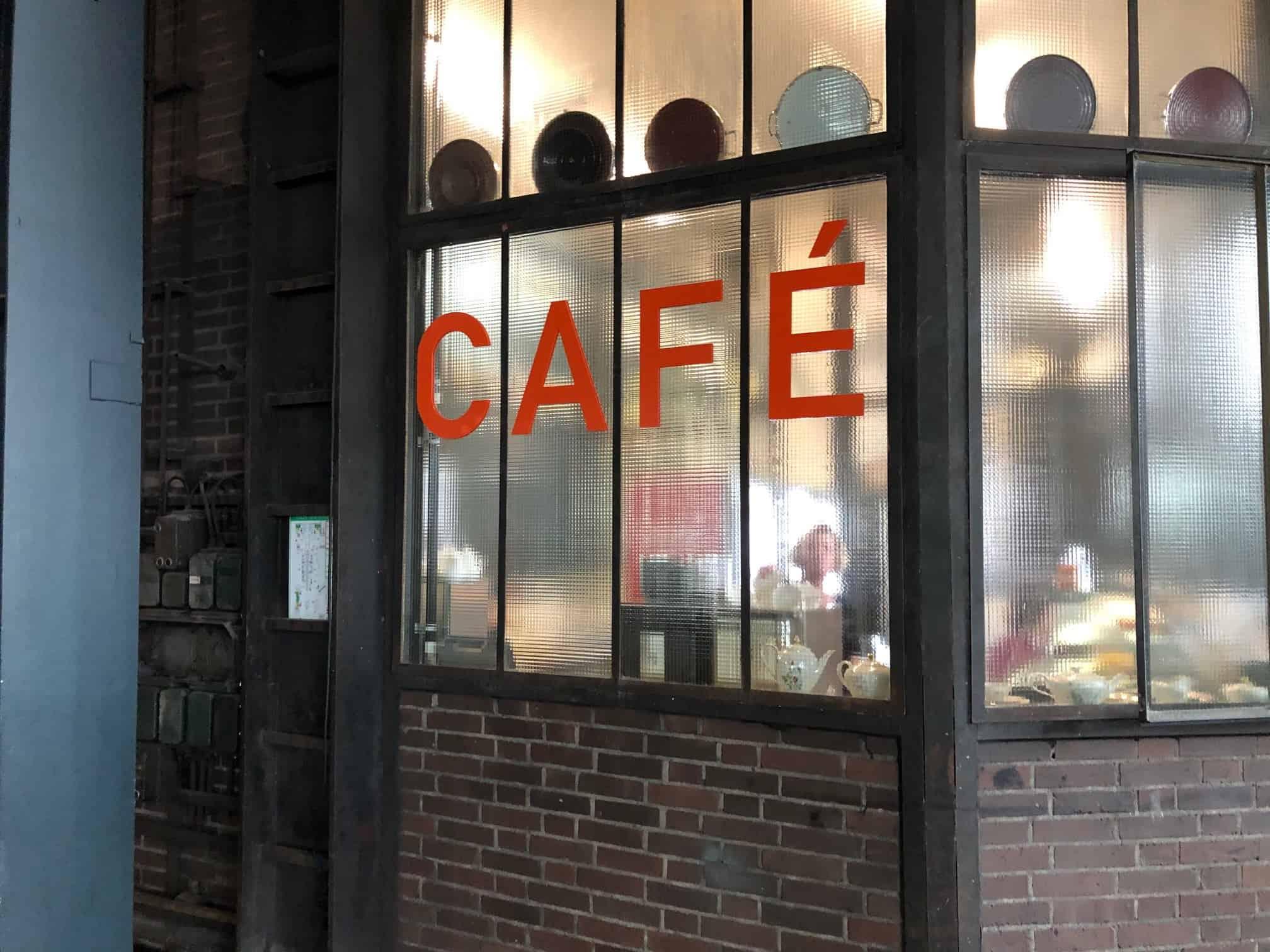 Café Kohlenwäsche Ruhr Museum Zeche Zollverein