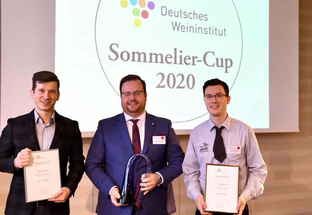 Maximilian Wilm aus Hamburg gewinnt DWI-Sommelier-Cup 2020