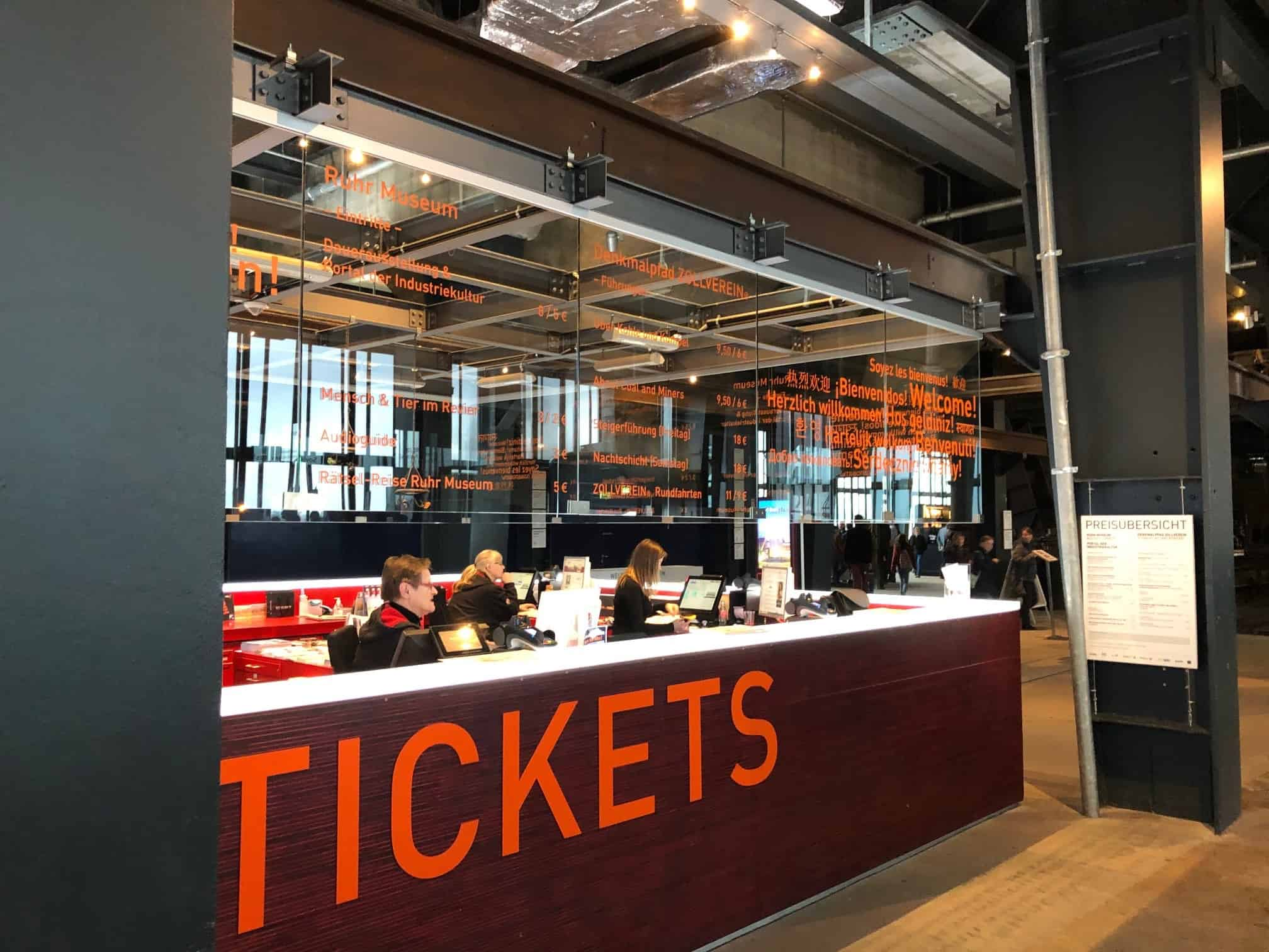 Tickets Ruhr Museum Zeche Zollverein