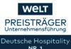WELT-Preisträger Unternehmensführung geht an Deutsche Hospitality