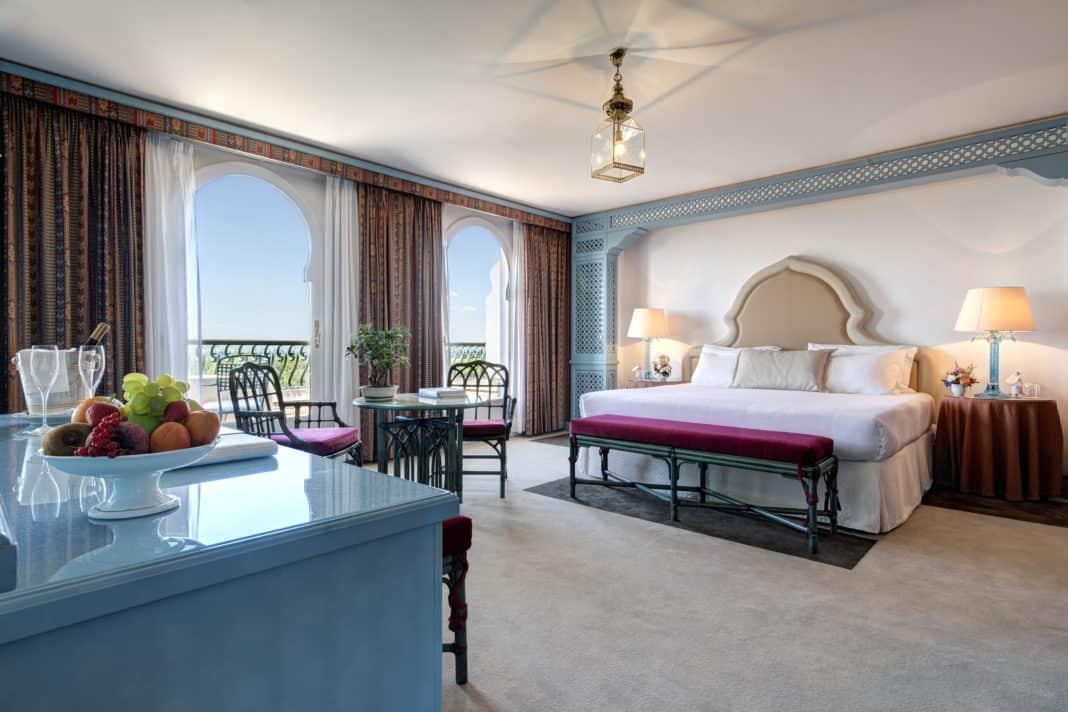 Hotel Excelsior Venice Lido Resort mit traumhaften Blick auf Venedig