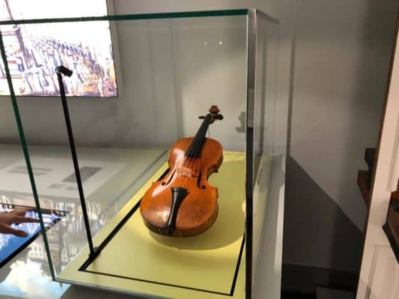 Geige des Komponisten im Beethoven-Haus