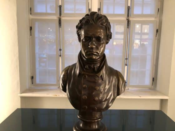 Beethoven-Büste in seinem Bonner Geburtshaus