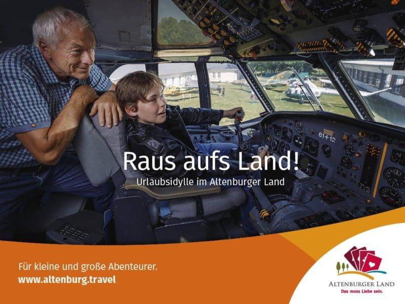 Sonderkampagne Raus aufs Land! Urlaubsidylle im Altenburger Land