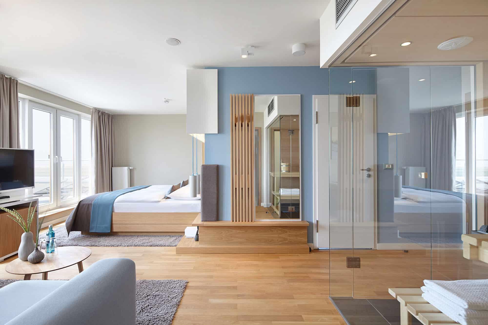 Suite im StrandGut Resort mit