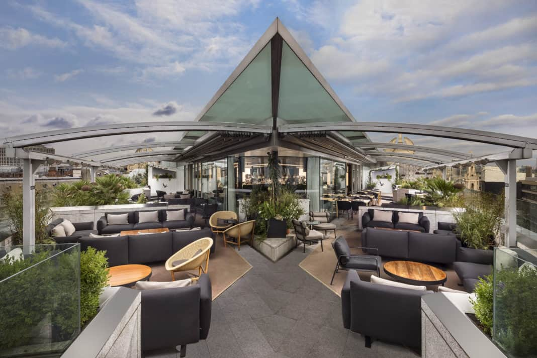 Beste Aussichten: Die fünf schönsten Hotel-Rooftops in Europa