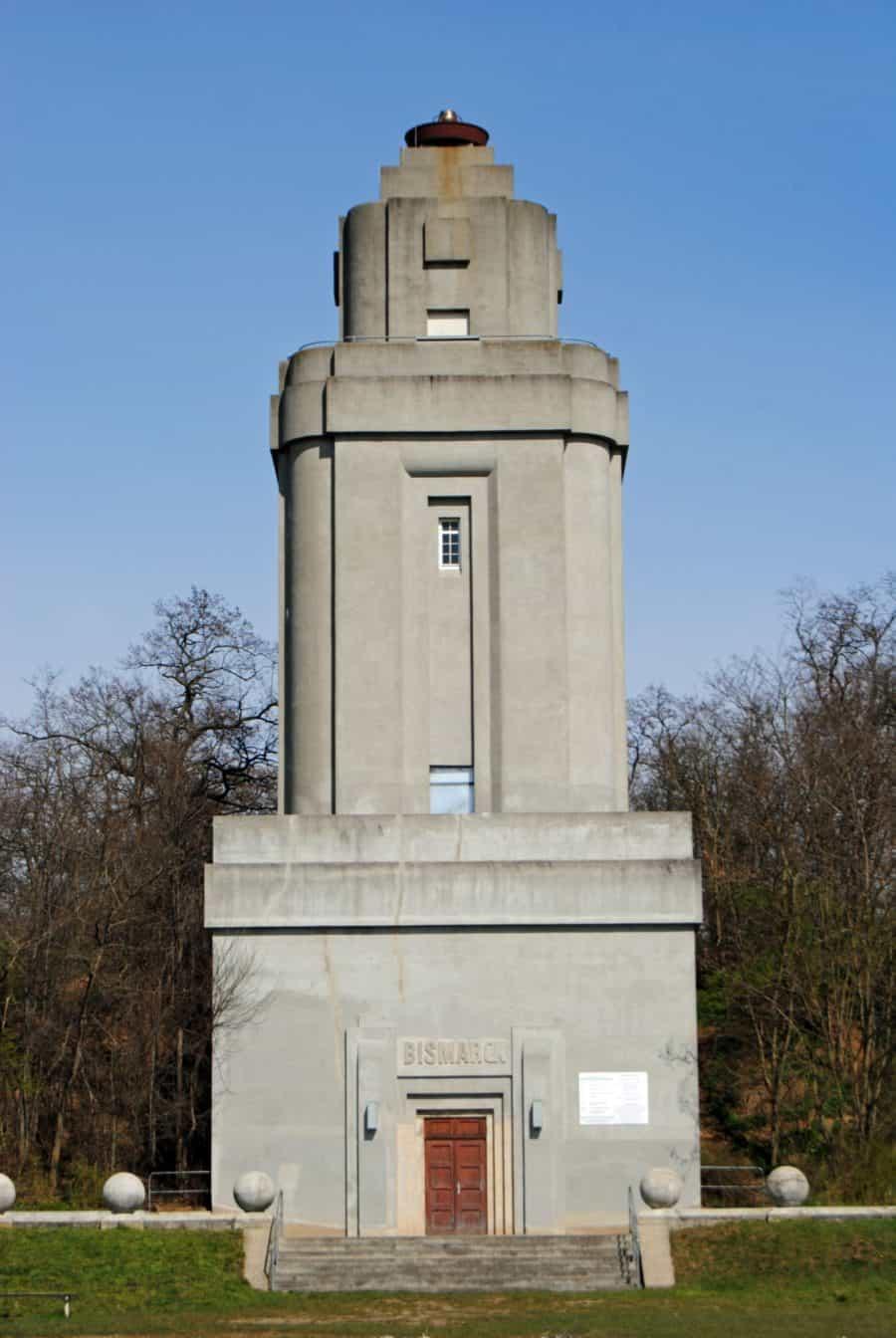 Blick auf den Bismarckturm