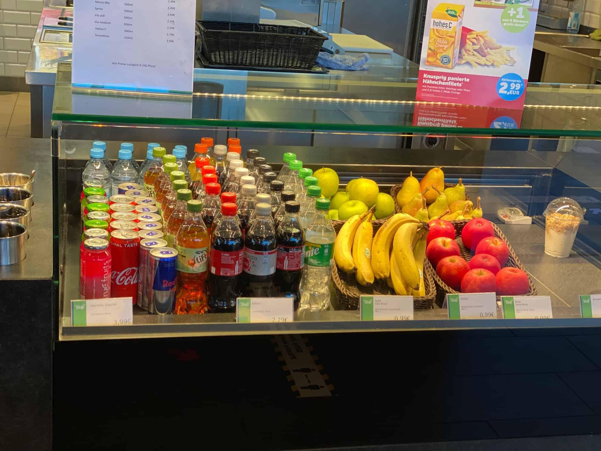 Auswahl an frischem Obst