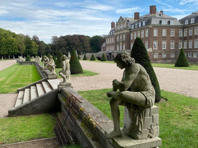 Figuren Garten Schloss Nordkirchen