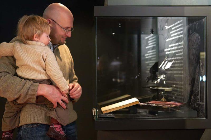 Ausstellung zur Geologie