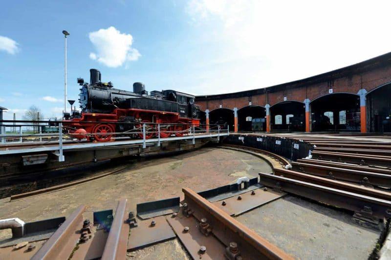 Industriegeschichte: Impression Eisenbahnmuseum Chmenitz
