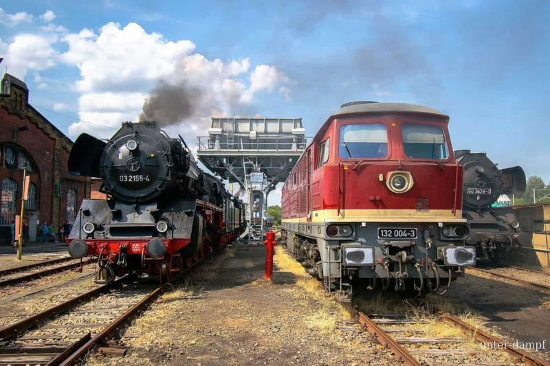 Industriegeschichte aus mehreren Generationen: Eisenbahnmuseum Chemnitz