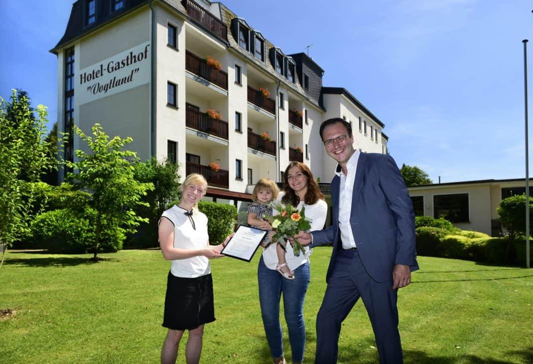 Die ausgezeichneten Hotels und Pensionen im Vogtland gekürt