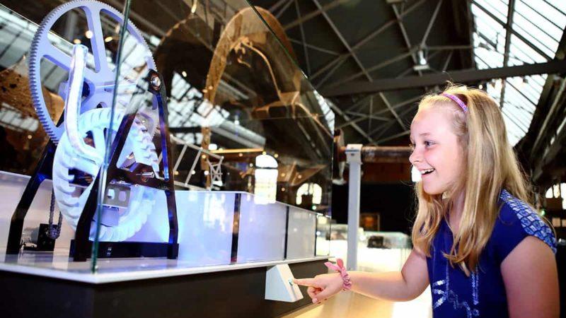 Auch für Kinder geeignet: Ausstellung im Industriemuseum Chemnitz