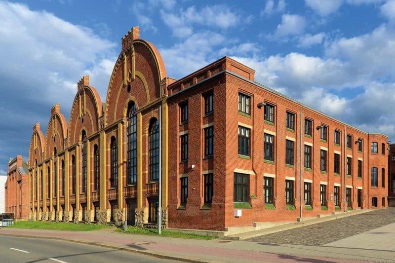 Industriegeschichte: Gebäude Industriemuseum Chemnitz