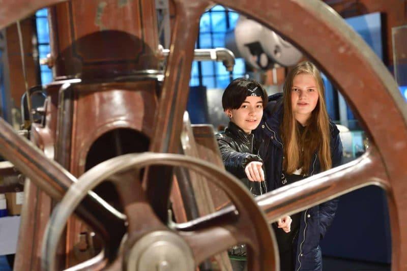 Einblicke ins Industriemuseum Chemnitz