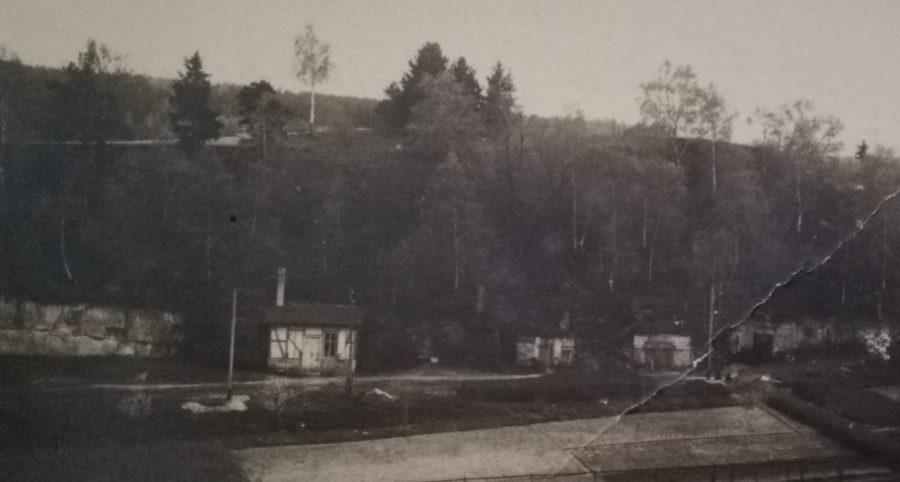 Höhlen der Konservenfabrik Strauc & Bercher in den Spiegelsbergen