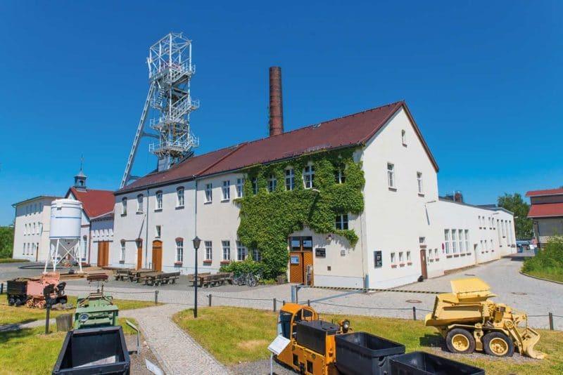 Industriekultur Freiberg: Anblick Silberbergwerk