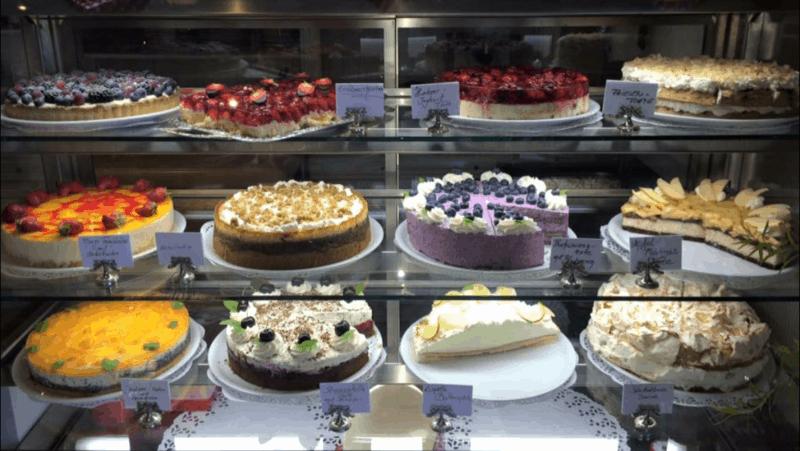 Hausgemachten Torten vom Café Tausendschön, Webseite