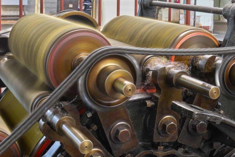 Krempler in Tuchfabrik Pfau in Crimmitschau