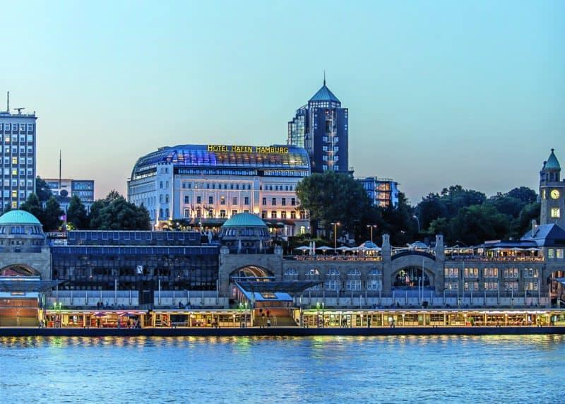 Außenansicht Hafen Hotel Hamburg