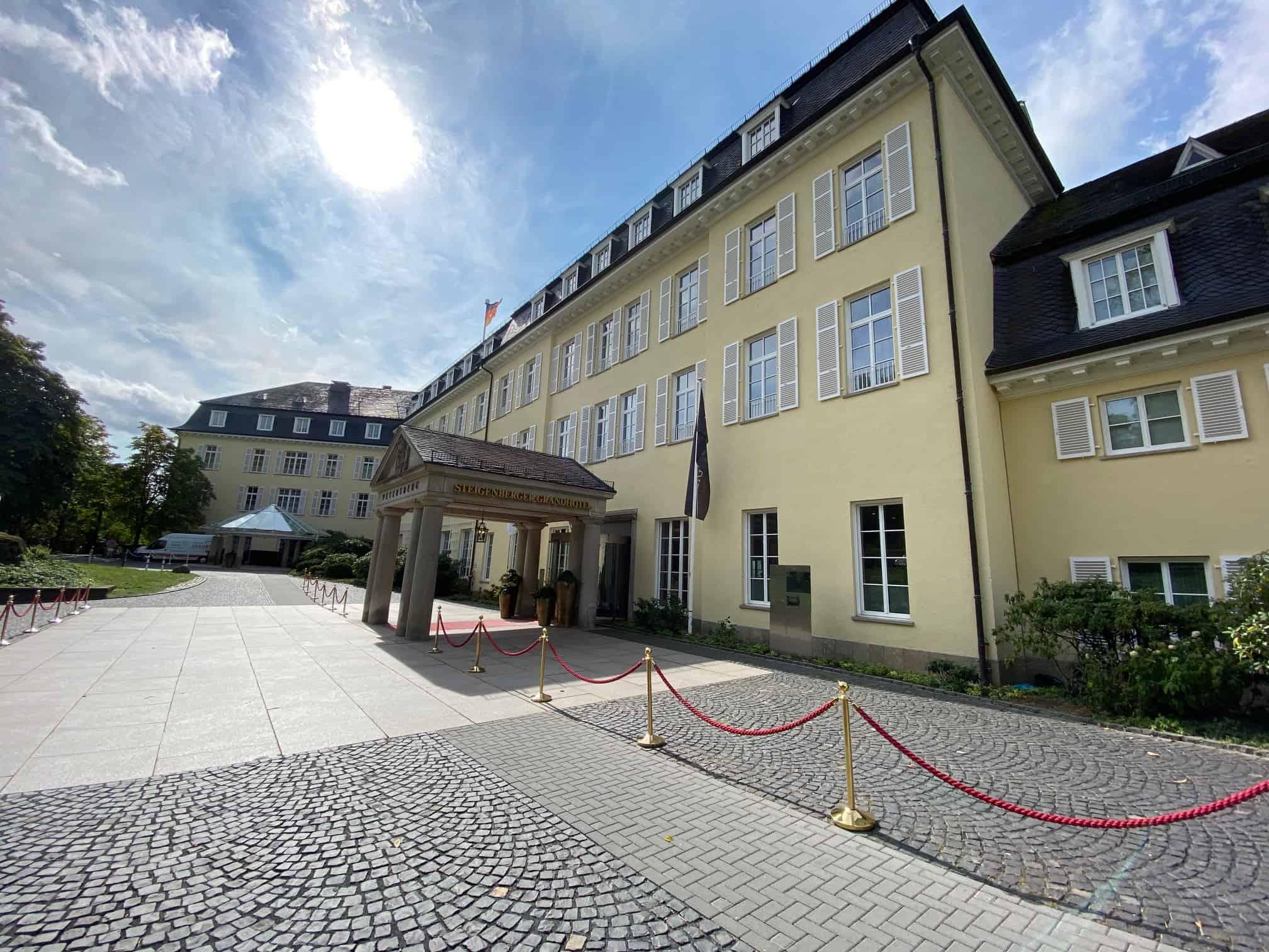 Außenansicht Grandhotel Petersberg