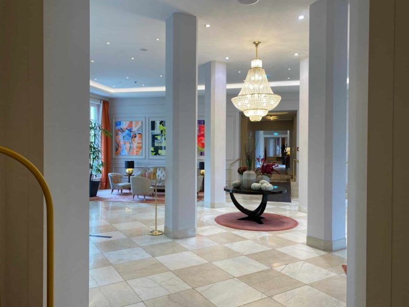 Hotellobby Steigenberger Grandhotel Petersberg