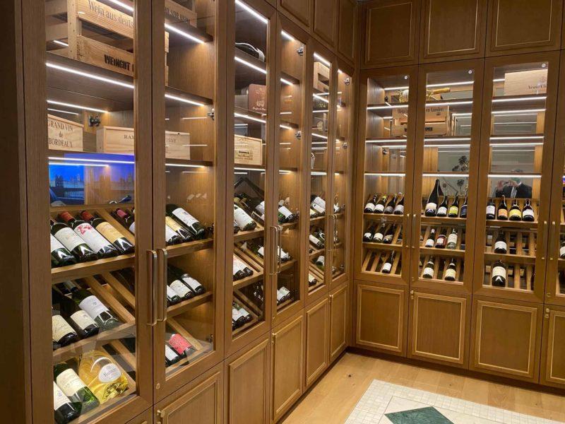Auswahl an erstklassigen Weinen