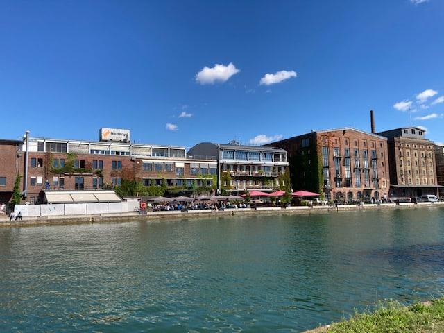 Restaurantmeile am Stadthafen Münster